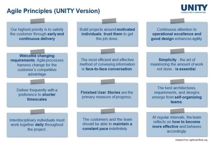 Agile Prinzipien
