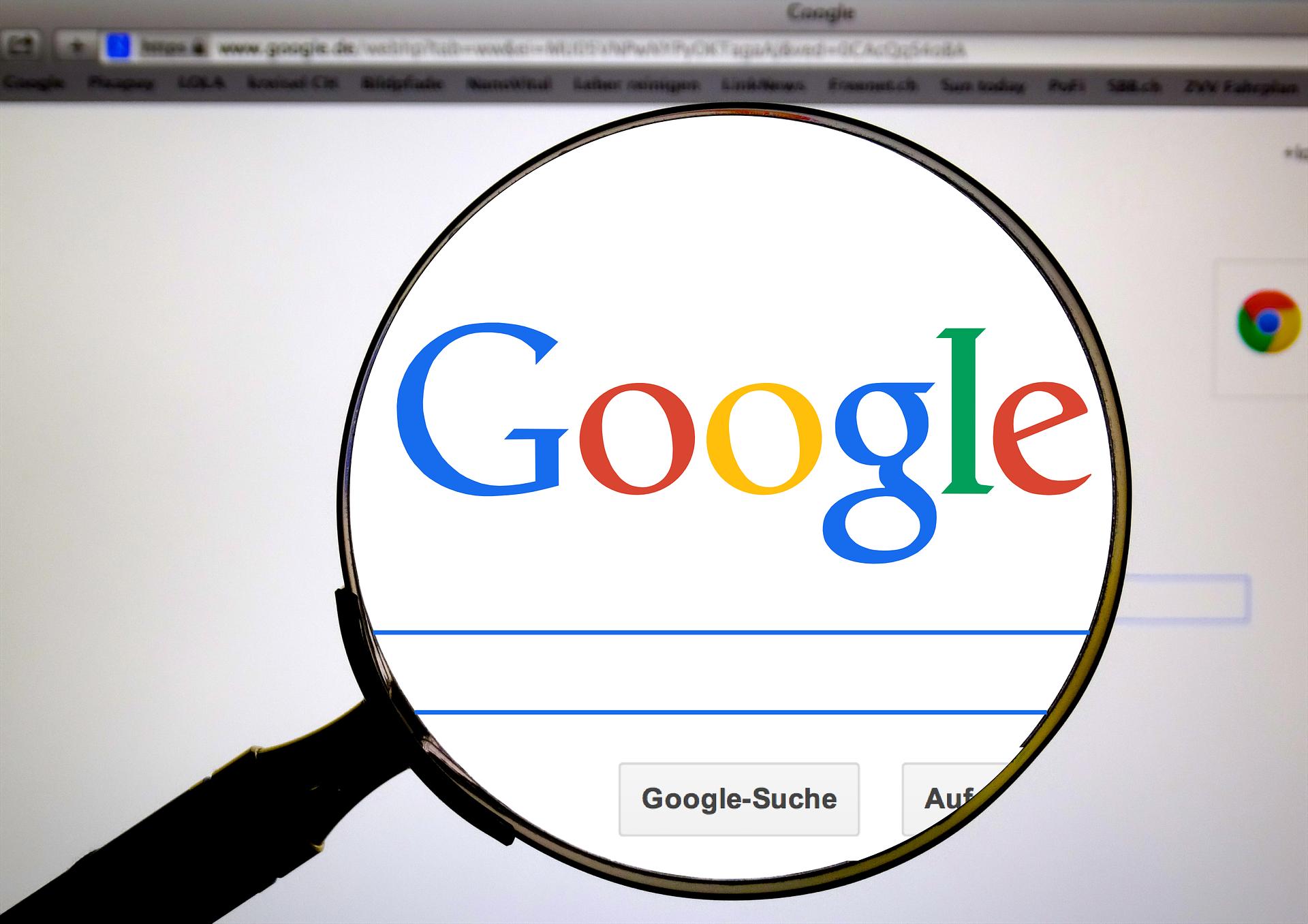 Google als Best Practice für Corporate Identity